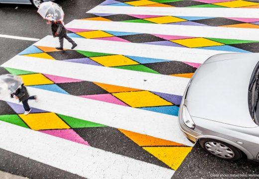 Българин разкрасява пешеходните пътеки в Мадрид