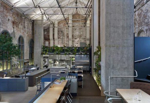 Стара електростанция се превърна в модерен ресторант