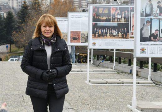 Фандъкова откри изложбата  Wienerberger Brick Award 2016  (видео)