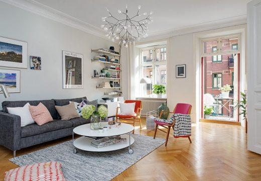 Цветен, стилен, уютен апартамент – ето как
