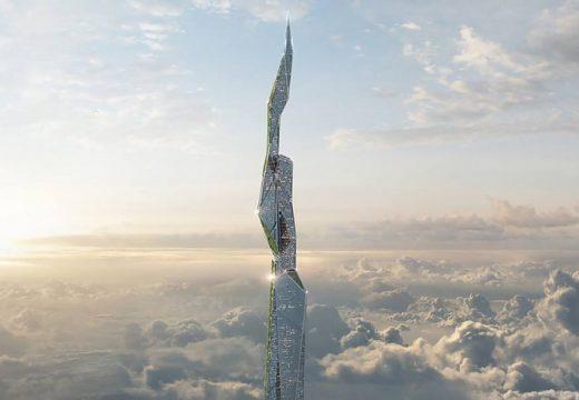 Бъдещо строителство: Небостъргач ще яде смог