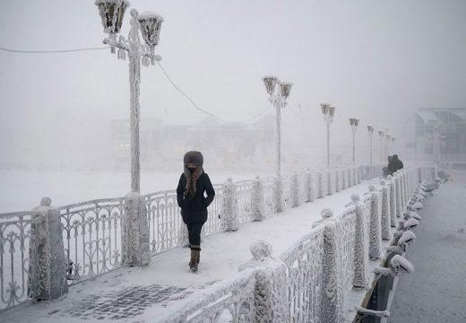Най-студеният град на света – Оймякон