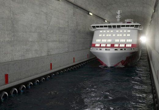 Първият в света тунел за кораби
