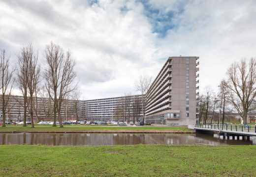 Холандски архитекти реновират колосален блок