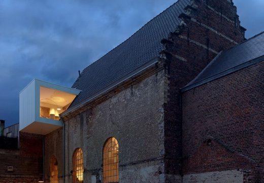 Стара църква се превърна в офис на архитект