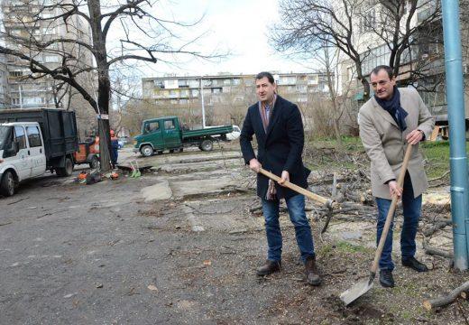 Започна строителство на голям общински паркинг в Пловдив