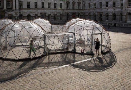 Капсули със замърсен въздух от целия свят
