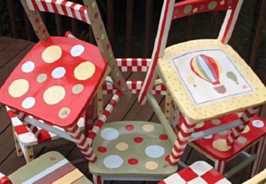 60+ от най-красиво изрисуваните столове