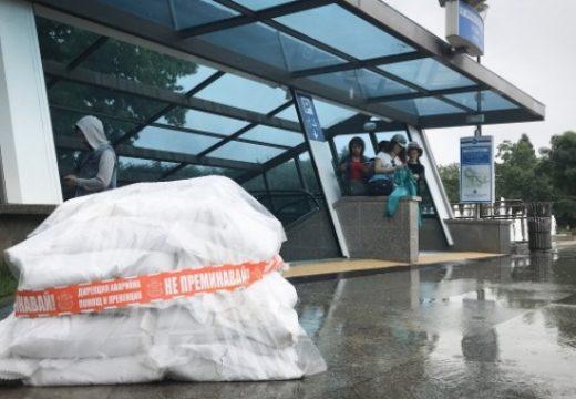 Вдигат диги заради наводнения в София