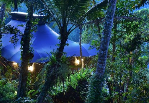 Най-екзотичният хотел на света е в палатка