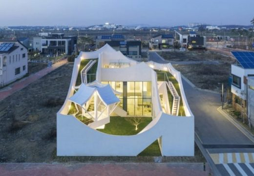 35+ екстериора на модерни къщи
