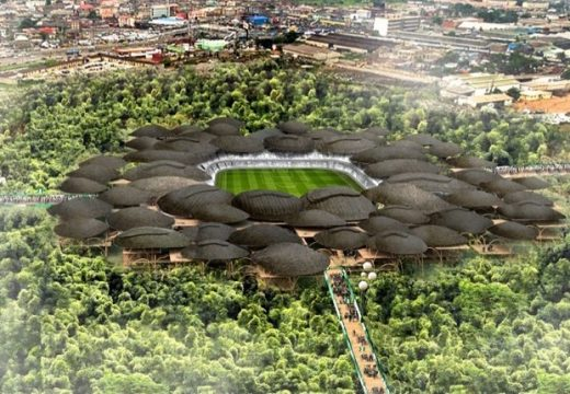 Еко решение: Бамбуков стадион