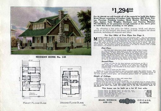 Разкриха плановете на къщи по поръчка от 1900 г.