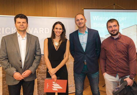 Четирима наградени архитекти продължават във Wienerberger Brick Award