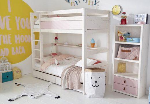 30+ идеи за стаи с двуетажни легла за момичета