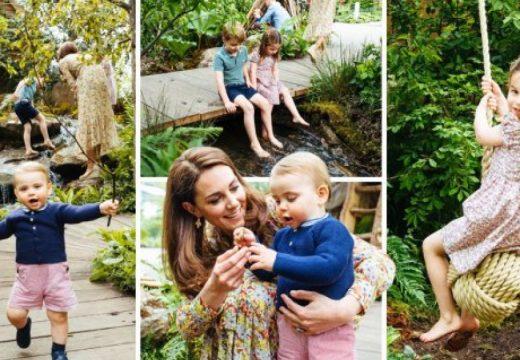 Кейт Мидълтън представи градината си на изложение за цветя