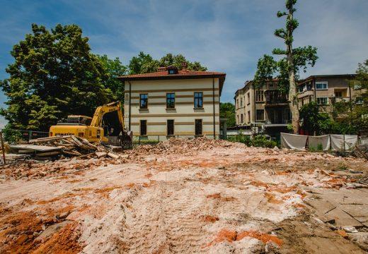 Събориха къща-паметник на културата в Пловдив