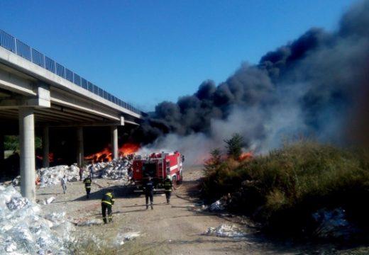"АПИ сезира прокуратурата заради пожара край АМ ""Струма"""