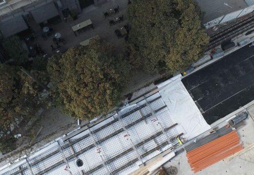 300 000 лв. спестила сменената подложка от ремонта на Графа