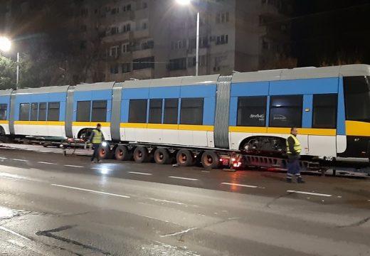 Новите трамваи на София вече пристигат
