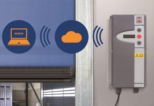 Дистанционна диагностика на индустриални врати Hörmann чрез SmartControl