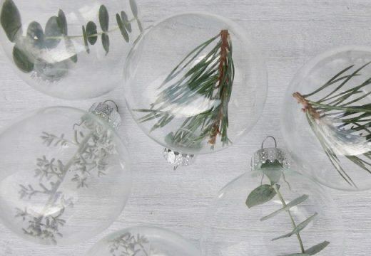 40 идеи за еко коледна декорация