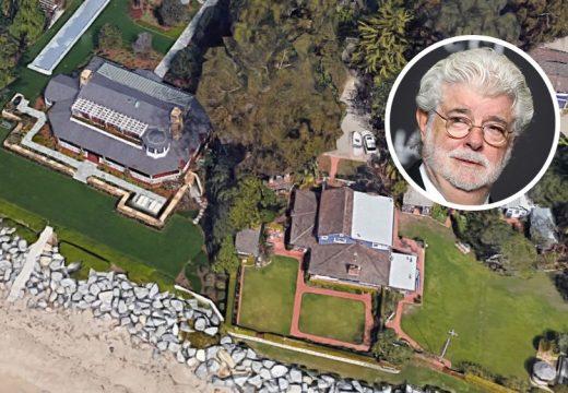Джордж Лукас си купи нова плажна къща за 28 млн. долара