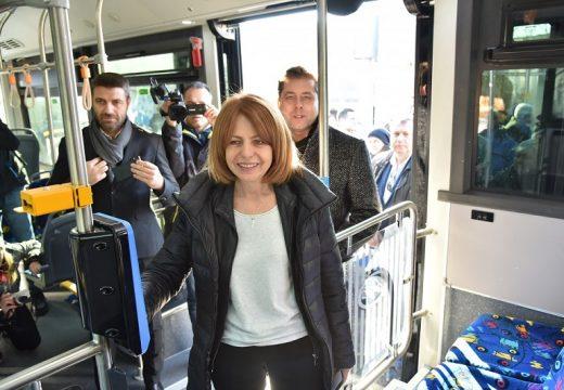 Три нови електробусни линии в София