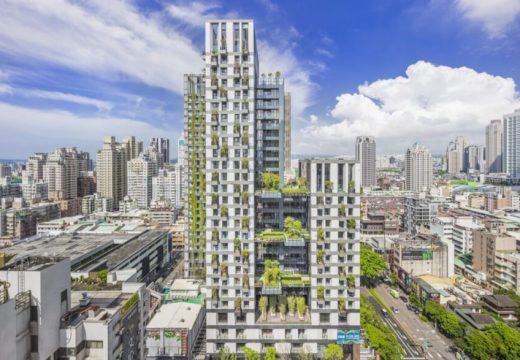 В Тайван завършиха единствена по рода си сграда
