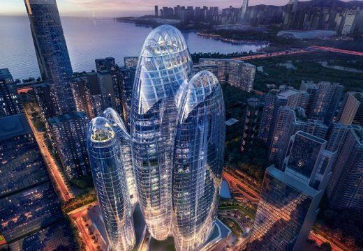 Zaha Hadid Architects проектира централата на смартфон гигант