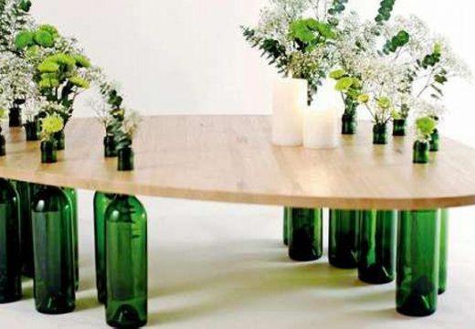 70+ идеи за старите стъклени бутилки в дома и двора