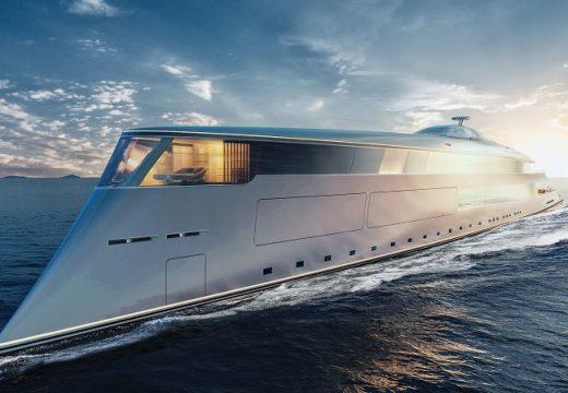 Първата в света супер яхта на водород струва 644 млн. долара