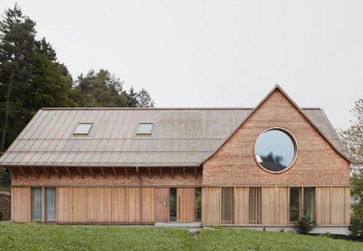 """""""Триоката"""" къща на австрийската провинция"""