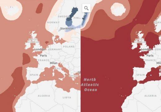 ЕС показва с ГИС мащаба на климатичните промени
