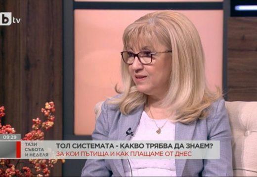Министър Аврамова: Тол системата стартира успешно