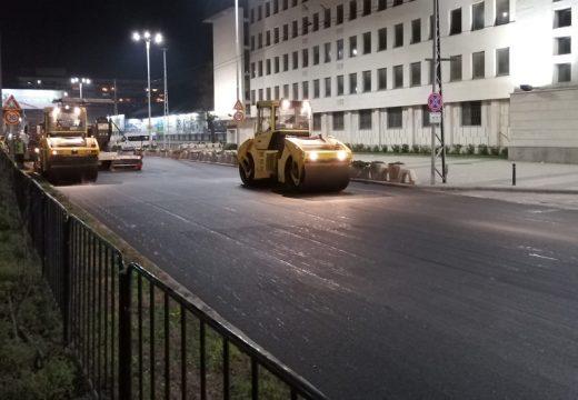 Преасфалтират пловдивски улици само за една нощ