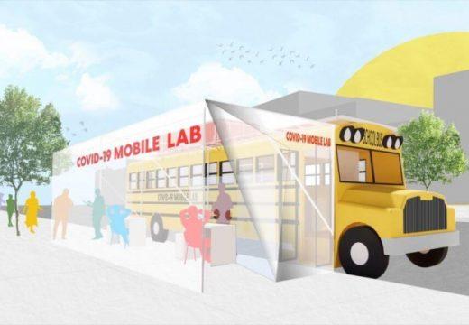 Архитекти проектираха мобилни лаборатории за COVID-19 тестване за изоставени общности