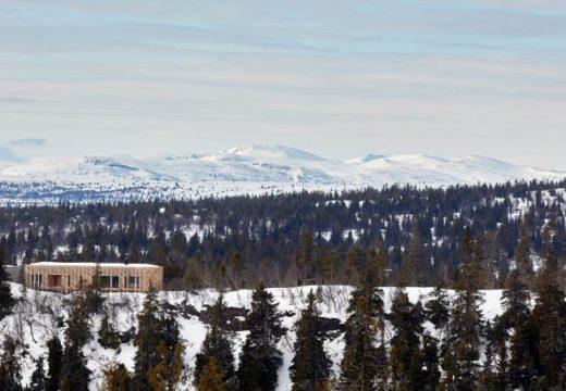 Двама архитекти проектираха мечтаната си дървена хижа в Норвегия