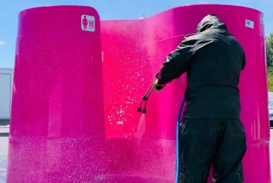 Дизайнери с решение на проблема с обществените тоалетни по време на пандемията