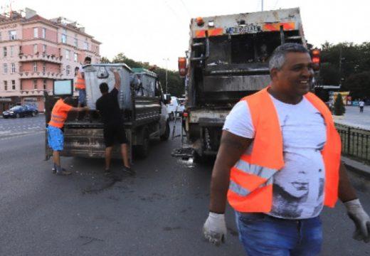 10 камиона с отпадъци са извозени след вчерашните сблъсъци