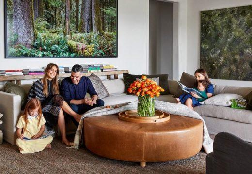 Райският дом на Джесика Алба и Кеш Уорън в Лос Анджелис