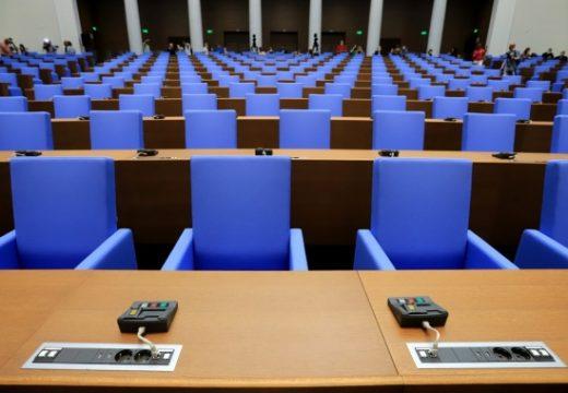 Новата пленарна зала готова да посрещне депутатите