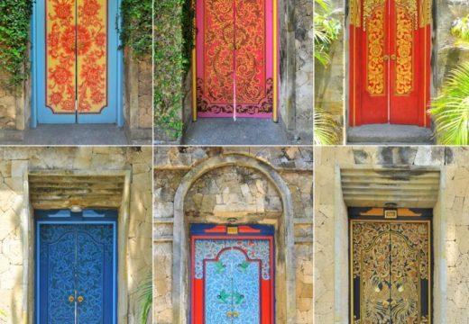 Няколко красиви врати, които сякаш водят към други светове