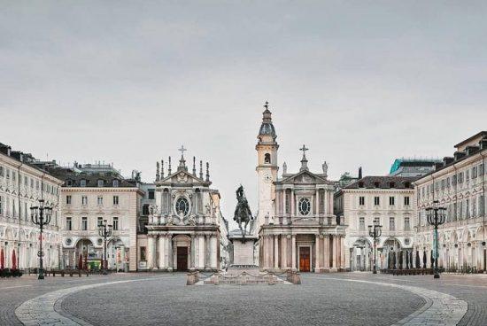 Красотата на италианската архитектура през обектива на Дейвид Бърдени