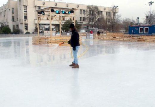 В Пловдив откриват най-голямата ледена пързалка в България