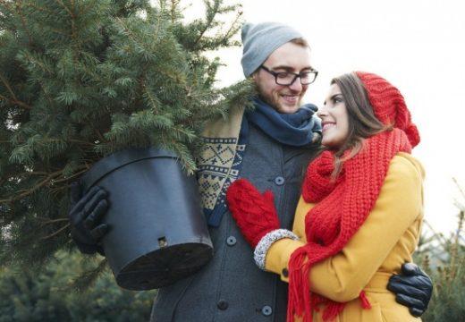 Елхи под наем за Коледа са новият хит в Лондон