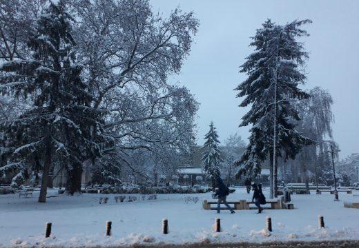 Осем населени места в Русенско без ток заради снега