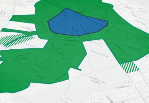 """Разширяват """"зелената зона"""" в София от днес"""