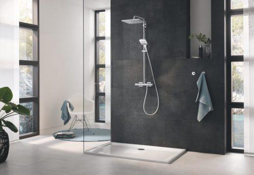 Нова серия ръчни душове от GROHE – Rainshower SmartActive