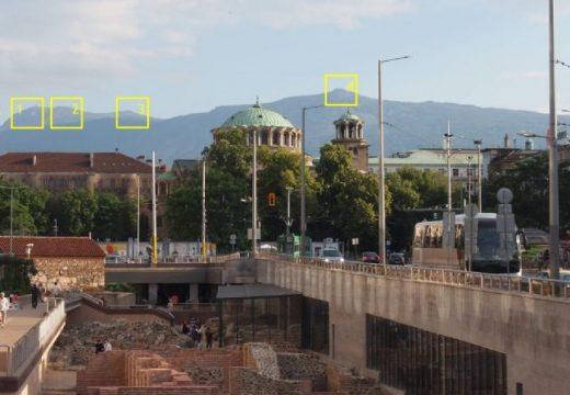 """""""Визуални коридори"""" за защита на гледките на София към планините"""